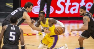 Dennis Schroder and short-handed Lakers can't complete comeback in loss to Kings