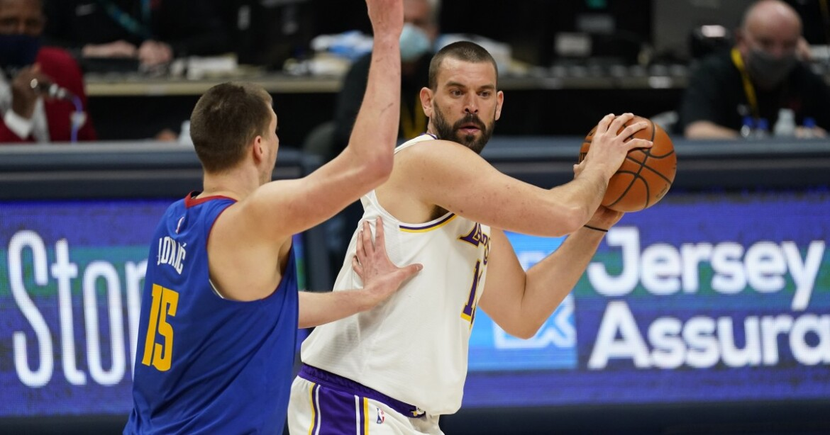Lakers' Marc Gasol out against Phoenix because of health and safety protocols