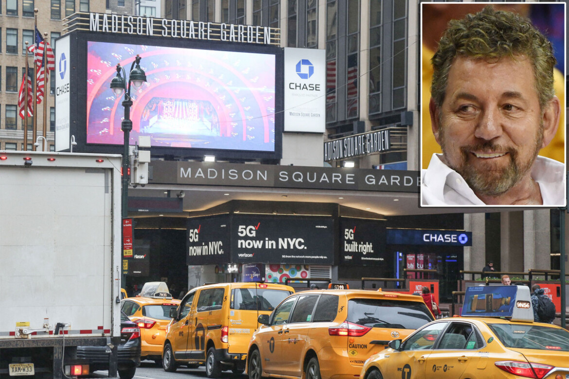 Investors flee James Dolan decision to merge MSG's owner with its cable network