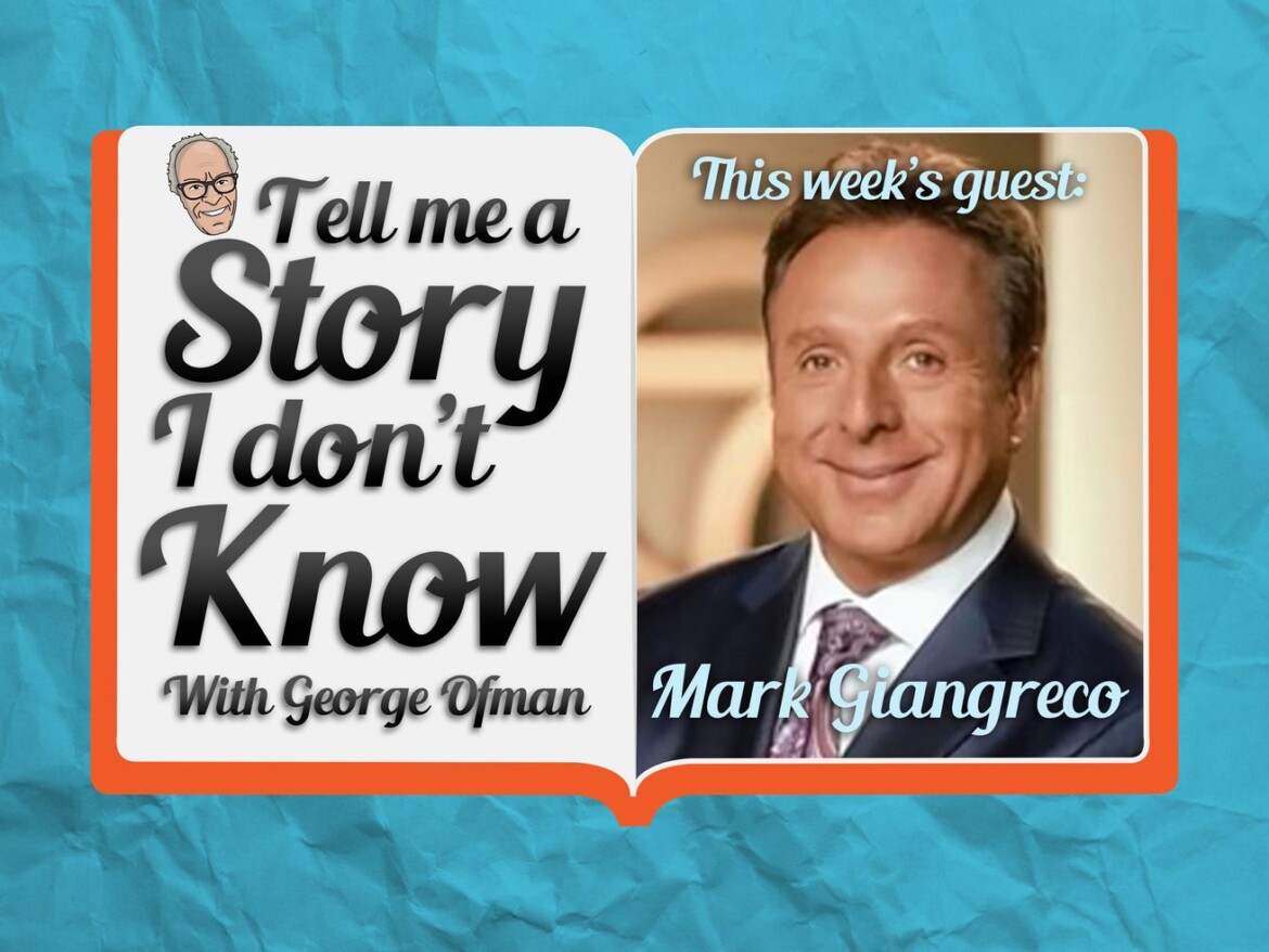 Mark Giangreco interview — from before ABC7 ouster — featured on George Ofman podcast