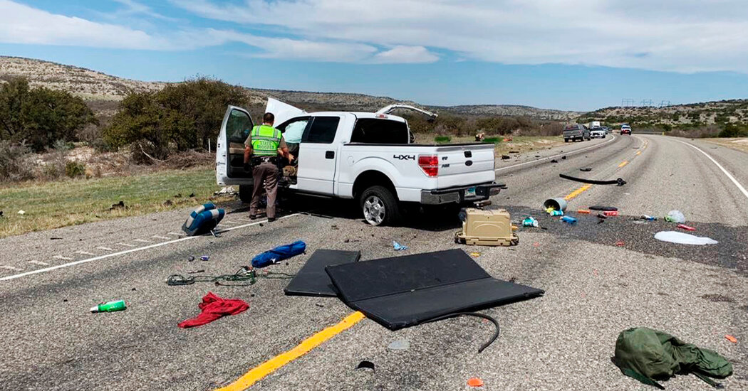 Driver Charged in Crash That Killed 8 Immigrants in Texas