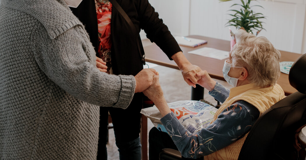 'Mom Is Really Different': Nursing Homes Reopen to Joy and Grief