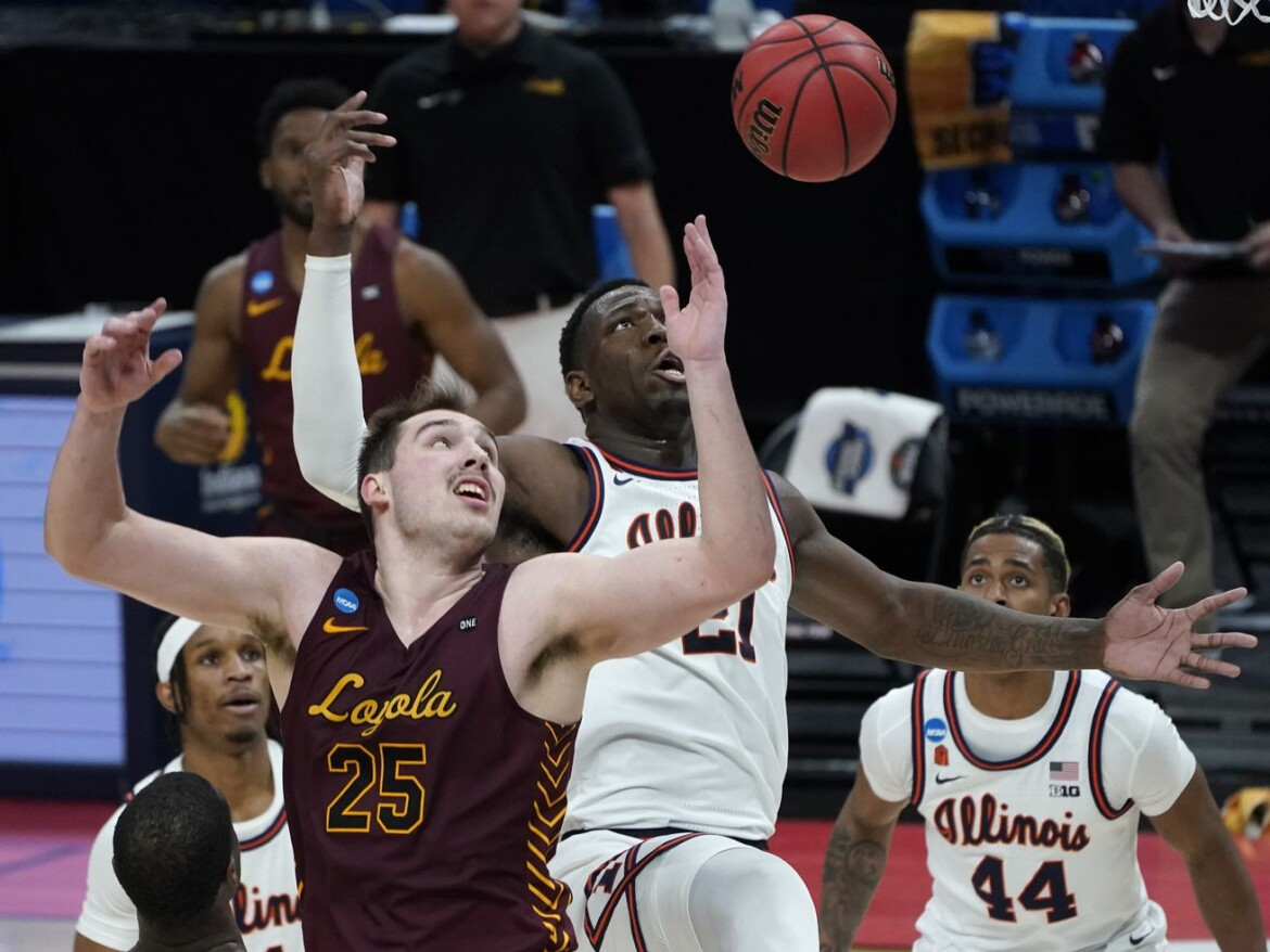 Loyola upsets top-seeded Illinois 71-58 in second round of NCAA Tournament