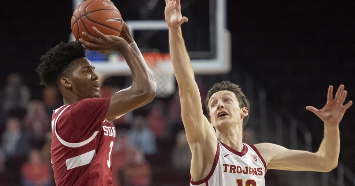 USC obliterates Stanford 79-42 to stay on pace for Pac-12 title