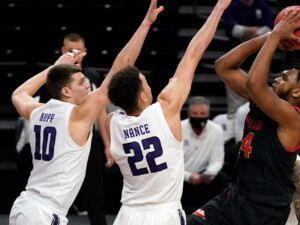 Northwestern surprises visiting Maryland