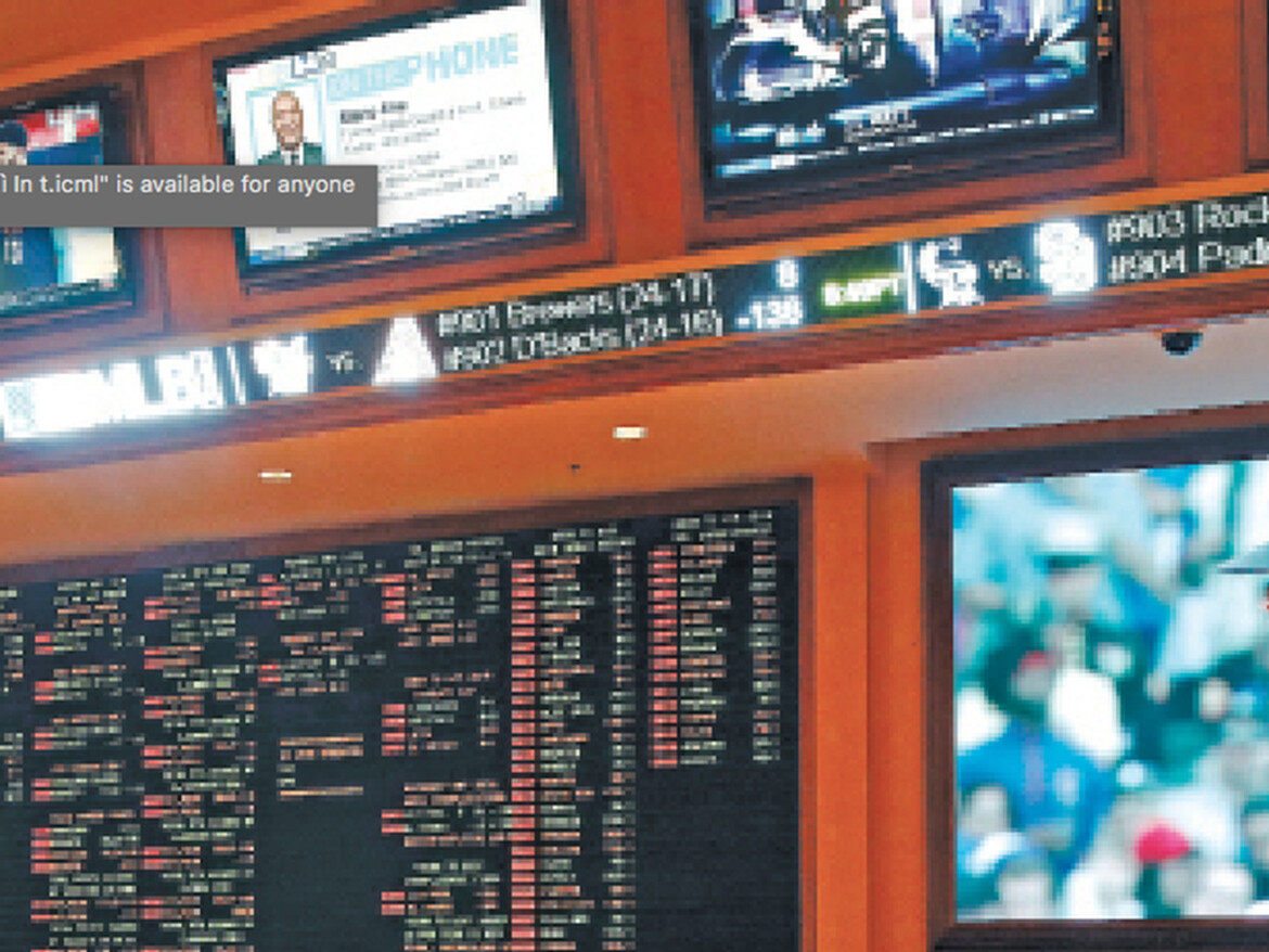 Some odds and oddities for gamblers and sportsbooks in Las Vegas