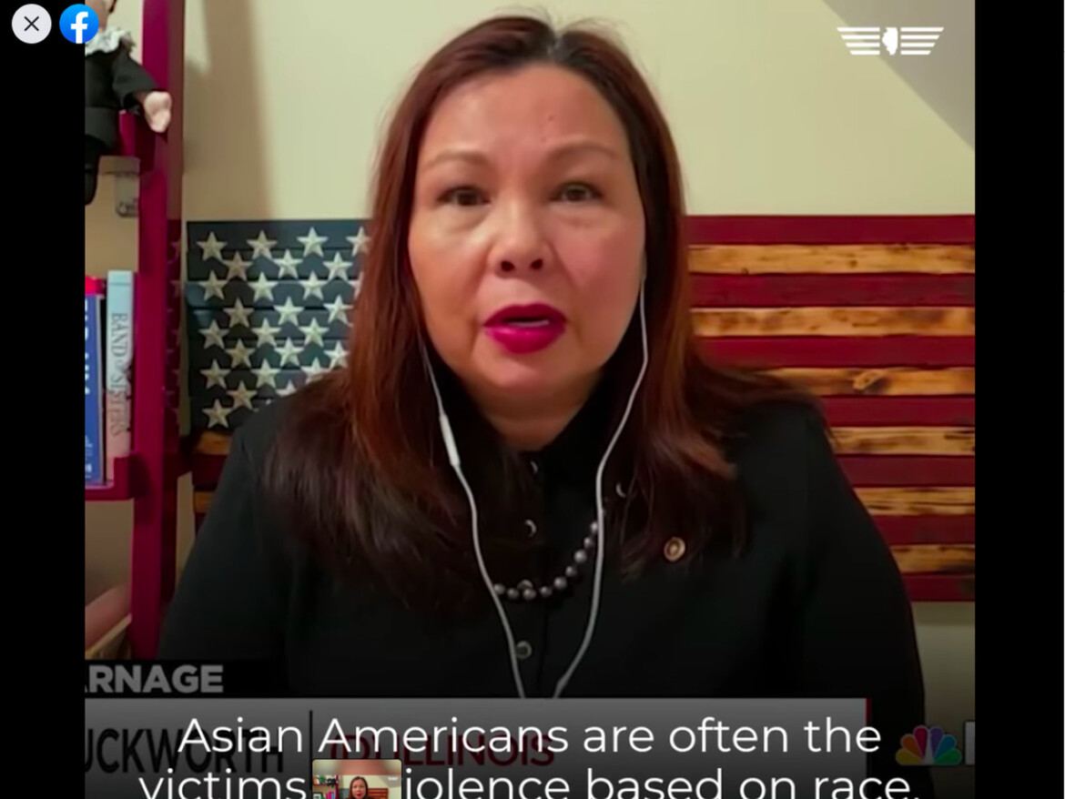 Duckworth on anti-Asian American rhetoric: 'We can fight back against this rise in extremism'