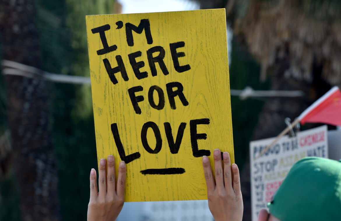 'I'm here for love': Throngs march in San Gabriel Valley to condemn attacks on Asian Americans