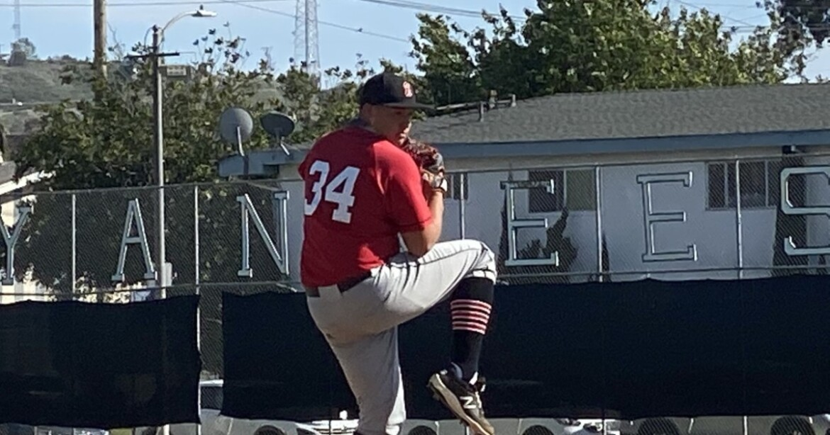 On opening day for LAUSD baseball, Anthony Joya of Banning looks the part of ace