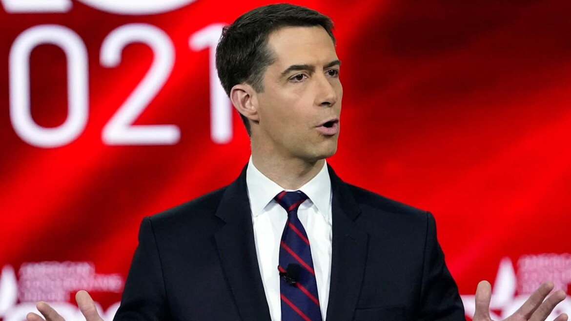 Cotton boosts COVID 'lab leak' theory, slams WHO as 'obsequious sycophants' to Chinese Communists