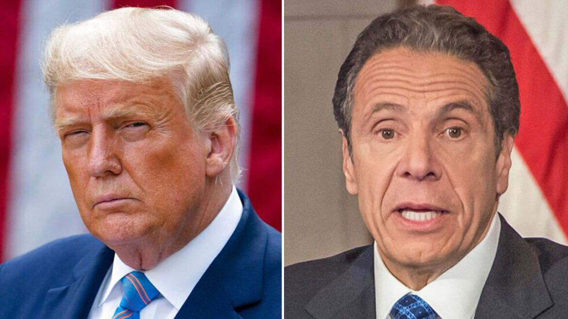 Cuomo invokes his daily 'fight' with Trump as Democrats call for him to resign