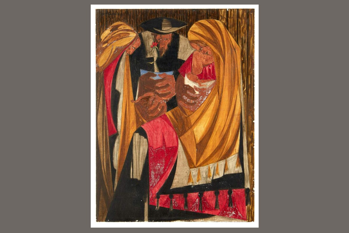 2nd Jacob Lawrence painting missing for 6 decades located