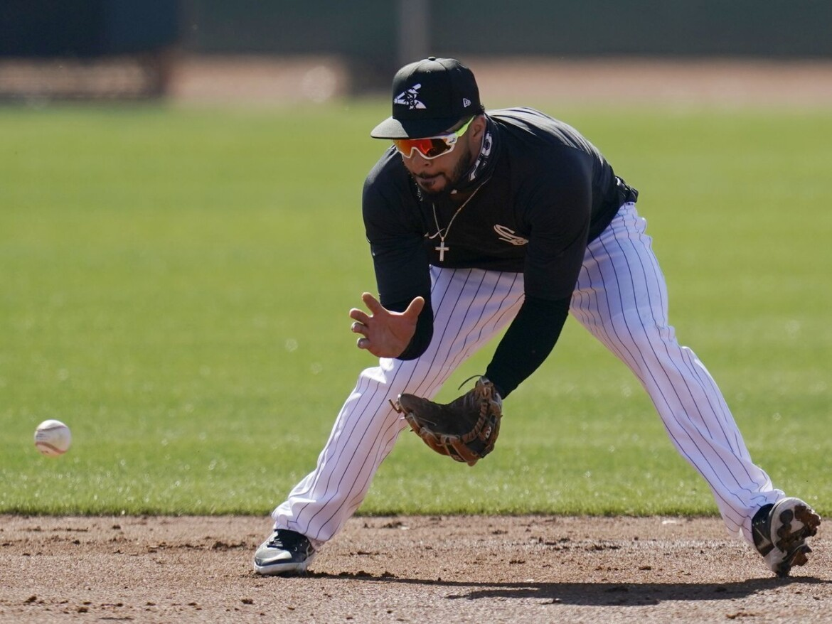 Leury Garcia will try to avoid head-first slides