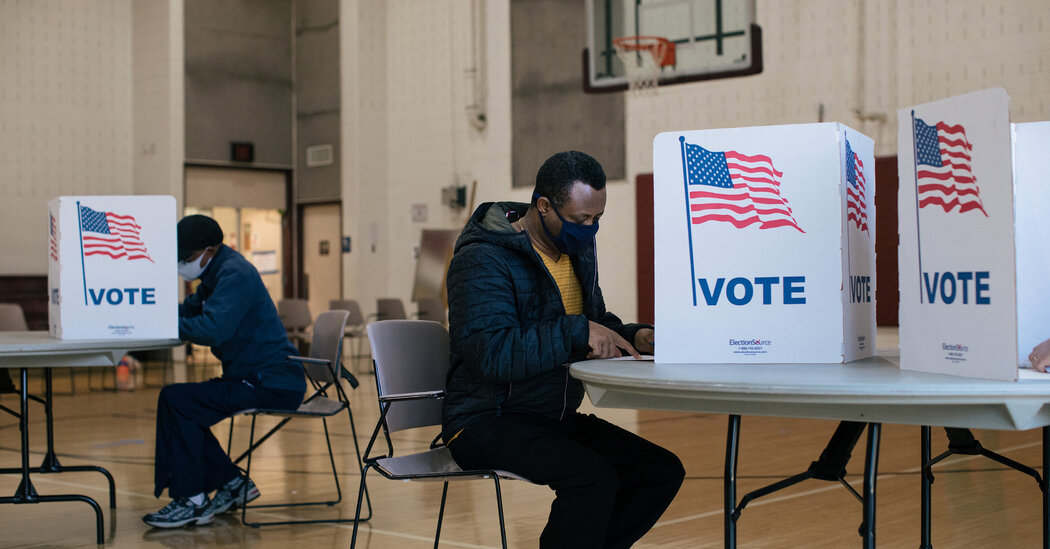 Virginia, the Old Confederacy's Heart, Becomes a Voting Rights Bastion