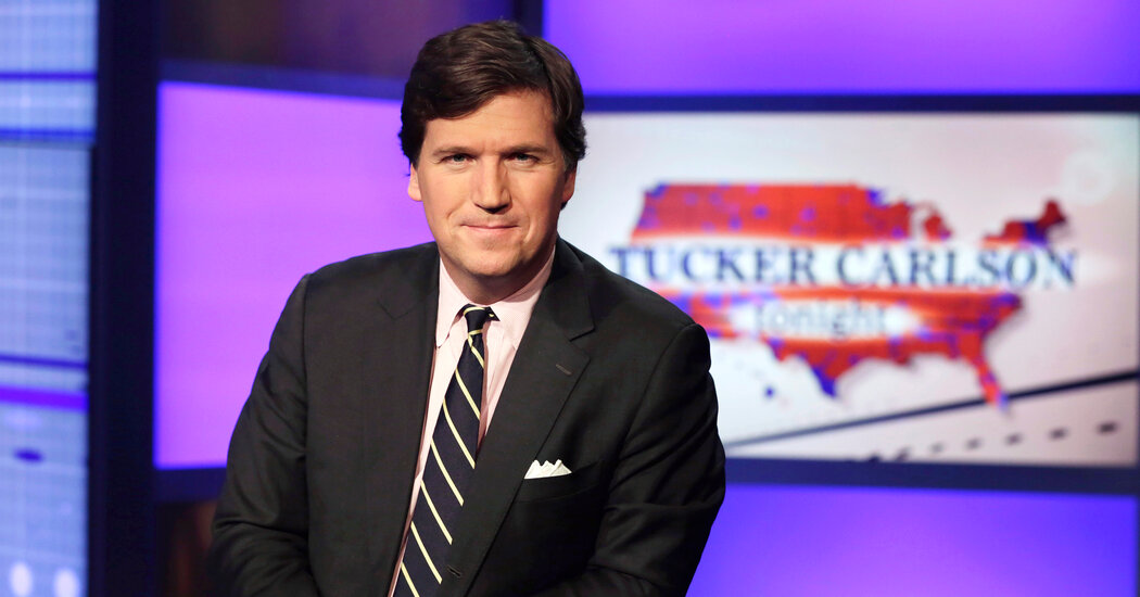 A.D.L. Calls for Tucker Carlson's Firing Over 'Replacement Theory' Remarks