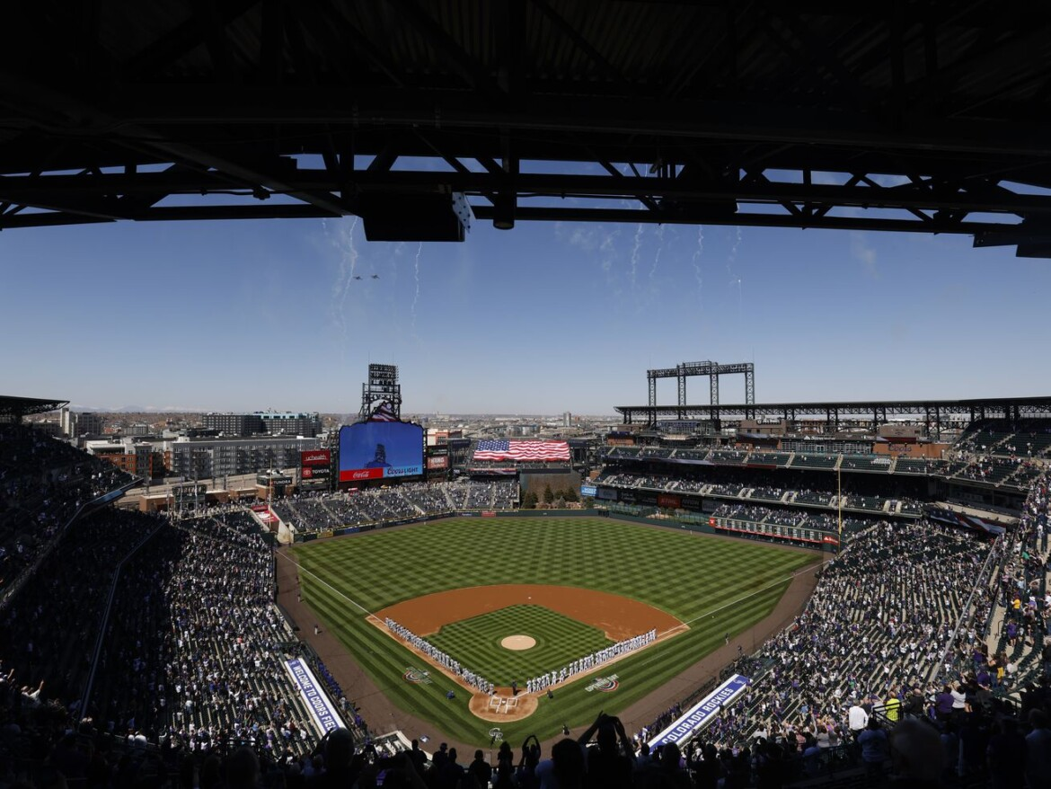 MLB moving All-Star Game to Denver's Coors Field: AP
