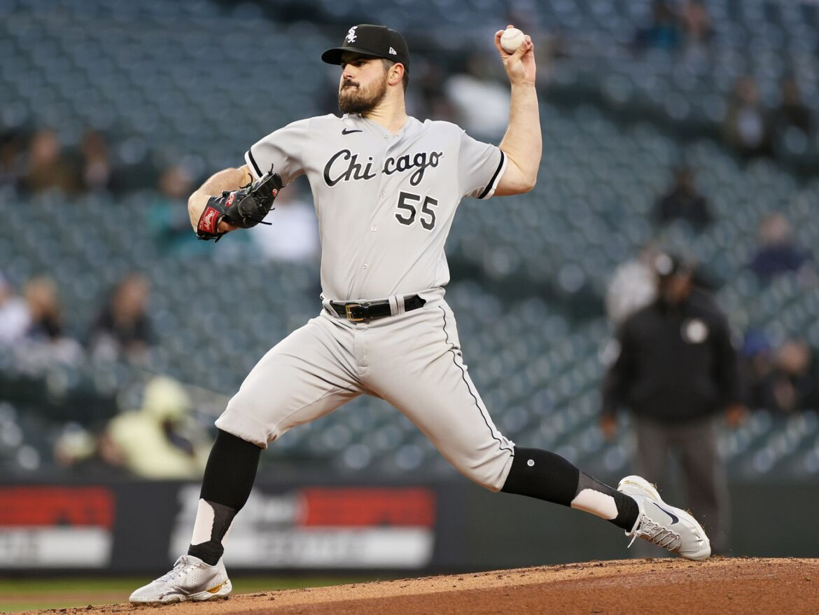 White Sox lefty Carlos Rodon scratched from scheduled start with upset stomach