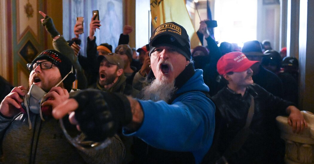 Oath Keeper Pleads Guilty and Will Cooperate in Jan. 6 Riot Inquiry