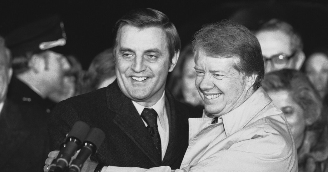 Jimmy Carter Leads Tributes to Walter Mondale