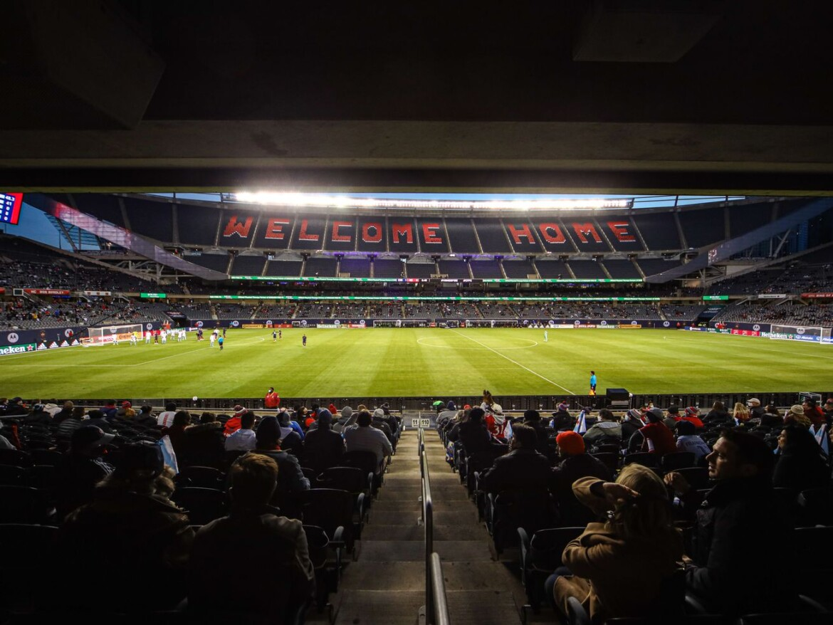 Fire finally welcome fans to Soldier Field