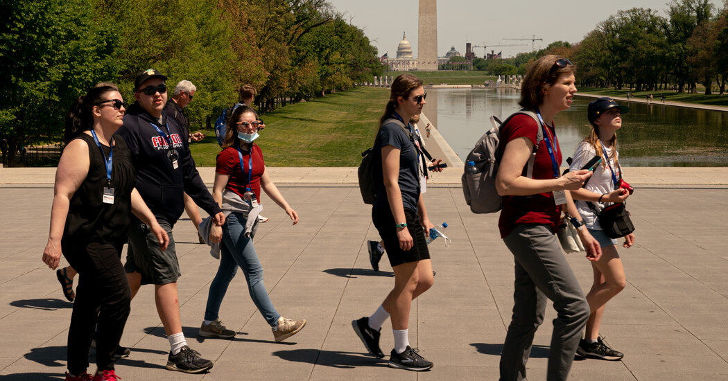 C.D.C. Eases Outdoor Mask Guidance for Vaccinated Americans