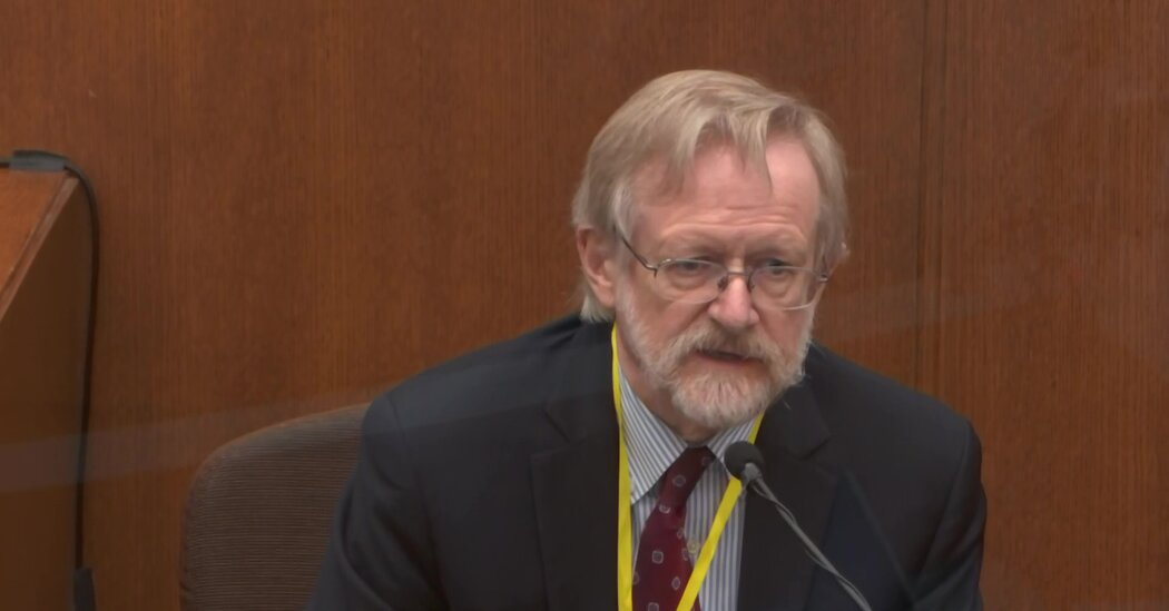 Dr. Martin J. Tobin, a Pulmonologist, Says George Floyd 'Died From a Low Level of Oxygen'