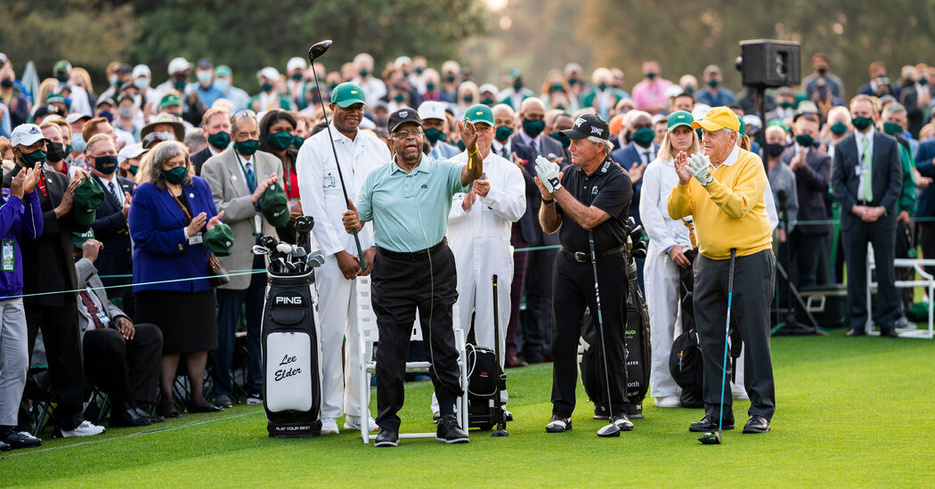 At the Masters, Lee Elder Gets Another Moment in the Spotlight
