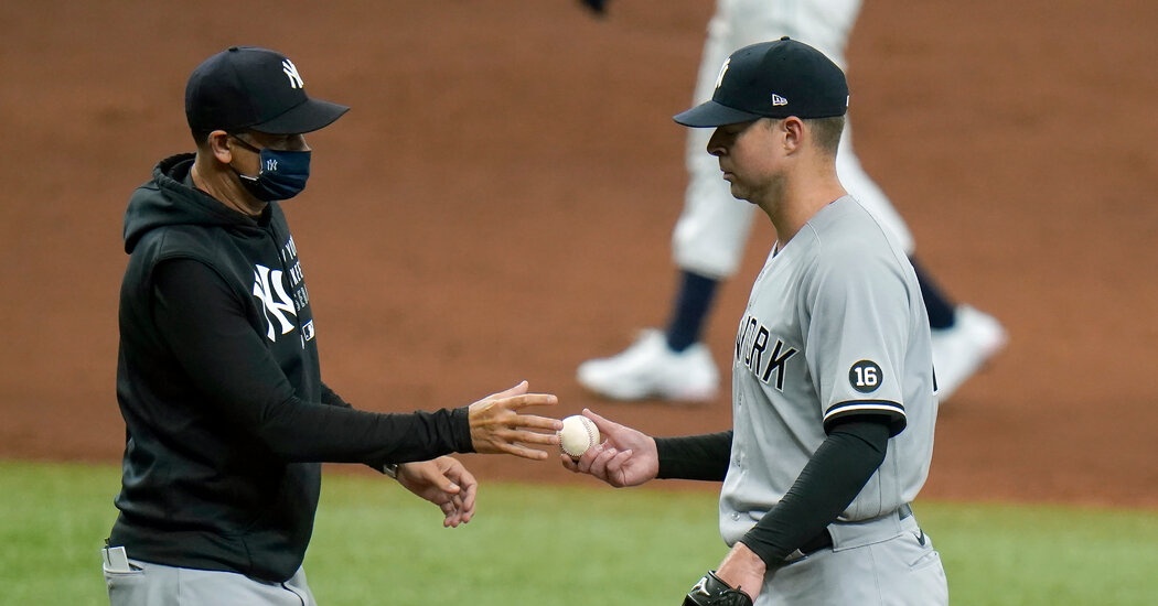 The Yankees Have a Rough Day as Rays Gets Rings and Then Romp