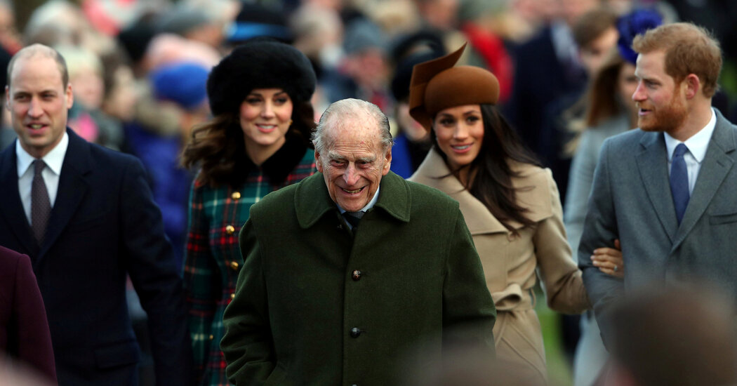 As U.K. Mourns Prince Philip, Some Hope Royals' Rift Will Heal