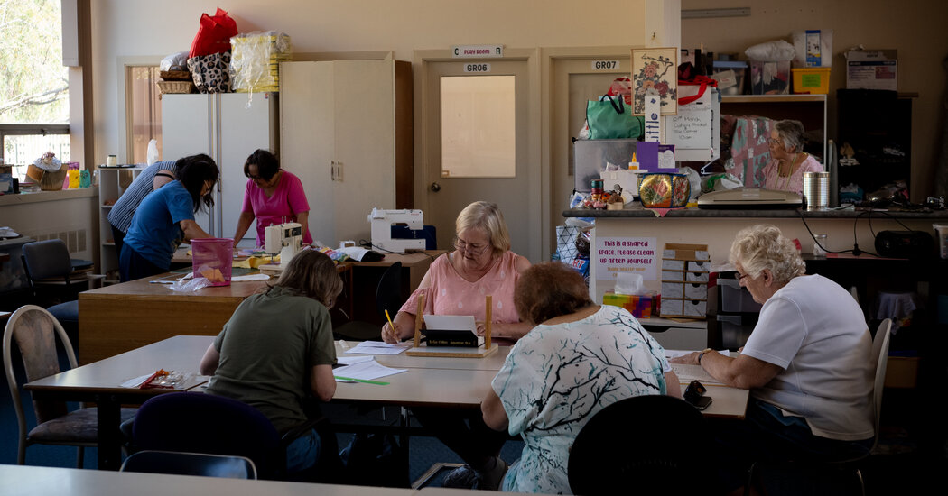 Need New Skills? How About a Hug? The Women's Shed Welcomes You.