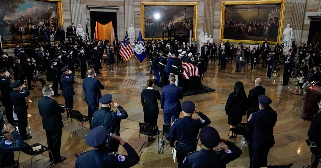 Mourning Another Fallen Officer, Capitol Police Face Deepening Crisis