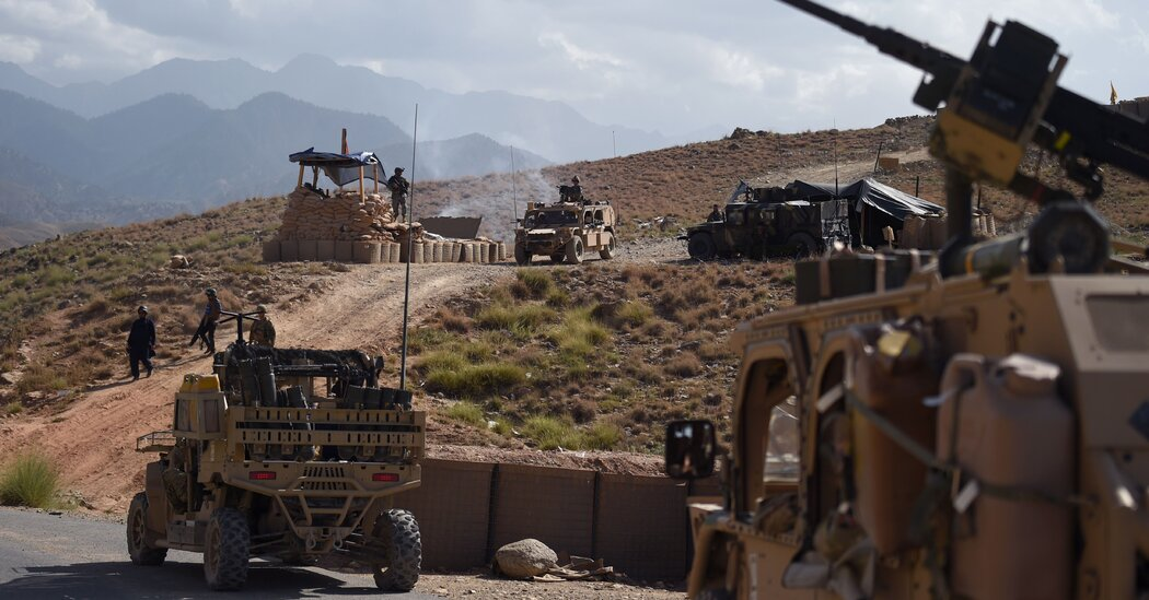 NATO Is Expected to Confirm Its Troop Withdrawal From Afghanistan