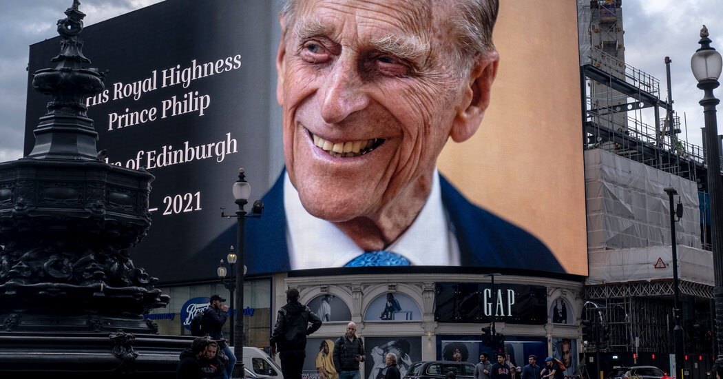 Prince Philip's Funeral Marks the End of an Era for U.K. Royal Family