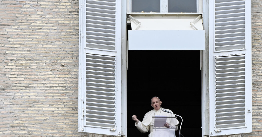 Pope Francis Delivers Sunday Blessing in Person After a Month