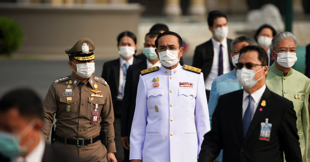 Thailand Prime Minister Forgoes a Mask and Is Fined