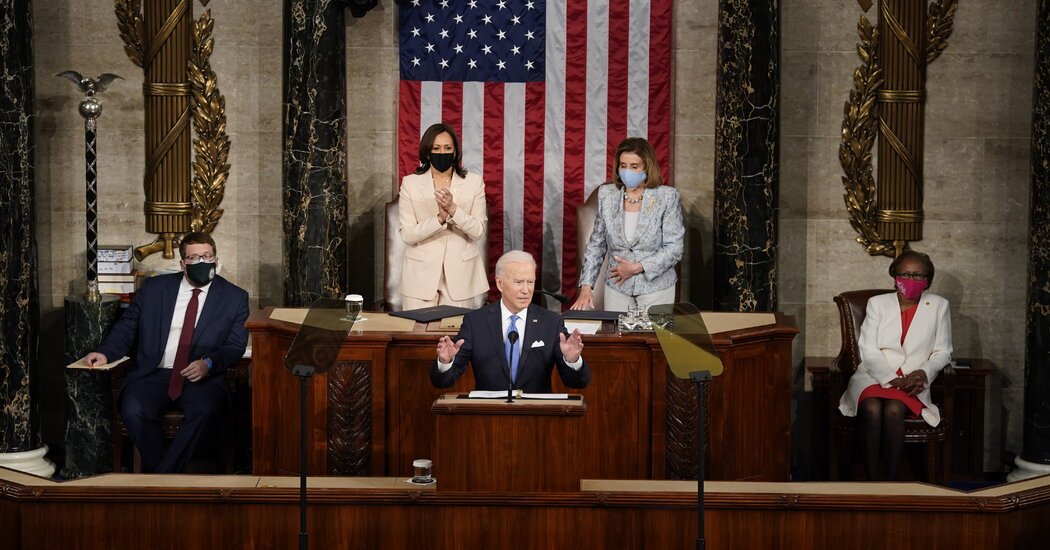 Biden's Speech to Congress: Full Transcript