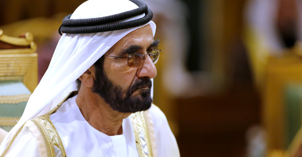 Dubai's Ruler Is Entangled in a Kentucky Derby Controversy