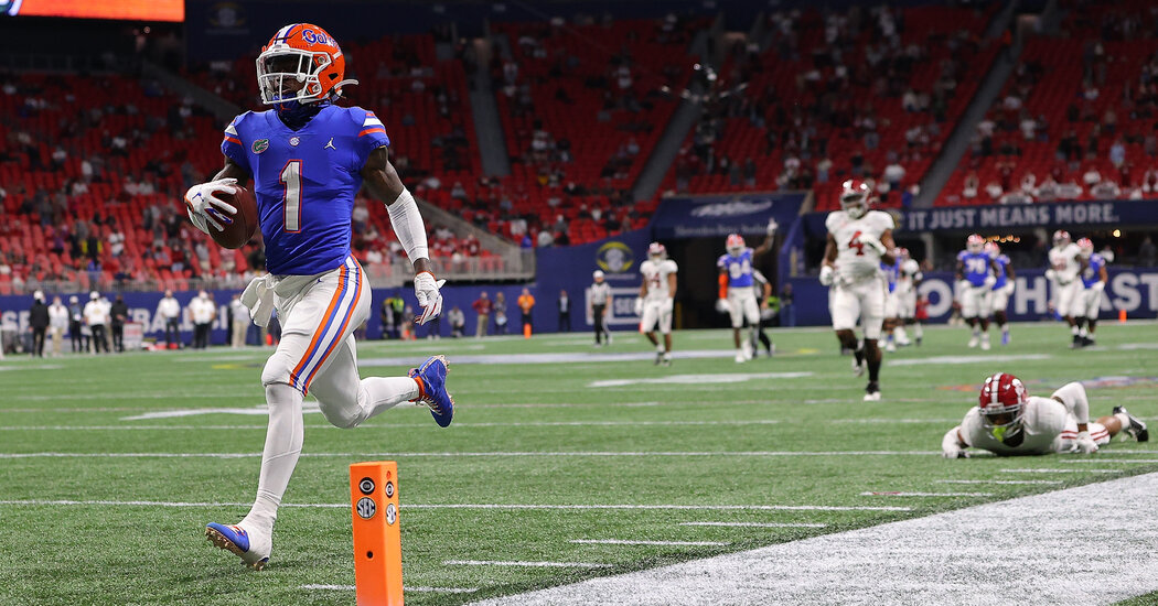 Kadarius Toney Drafted by the Giants? Fans Seem Confused