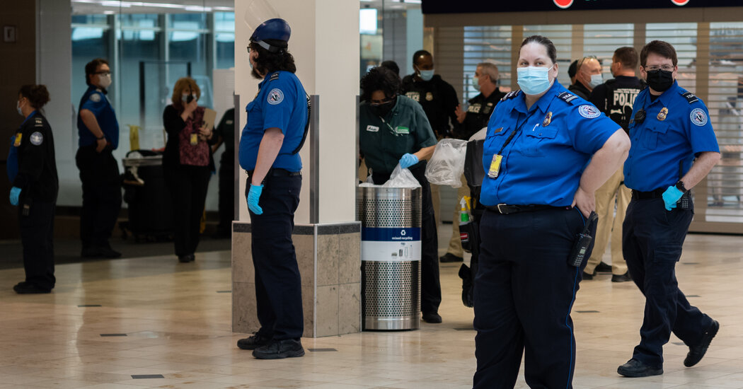 T.S.A. Extends Mask Mandate for Travel Into September