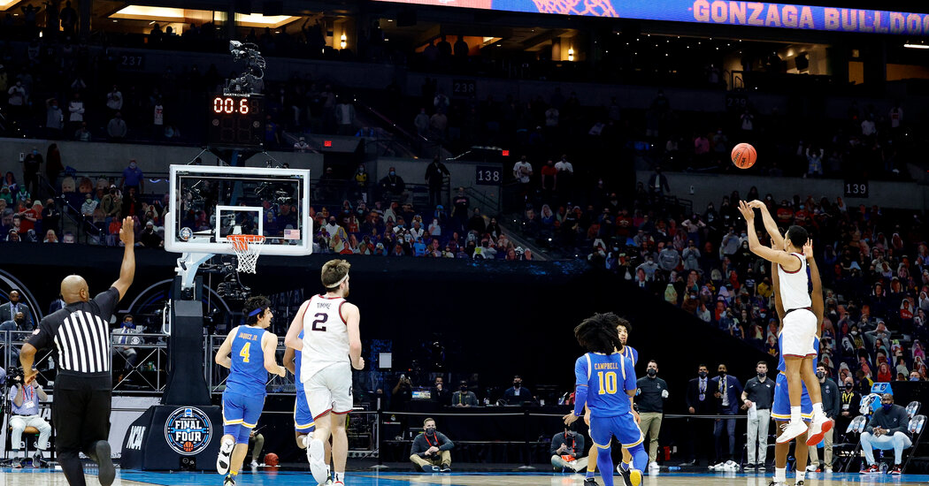 Gonzaga's Buzzer-Beater a Reminder of the Hoopla That's Missing