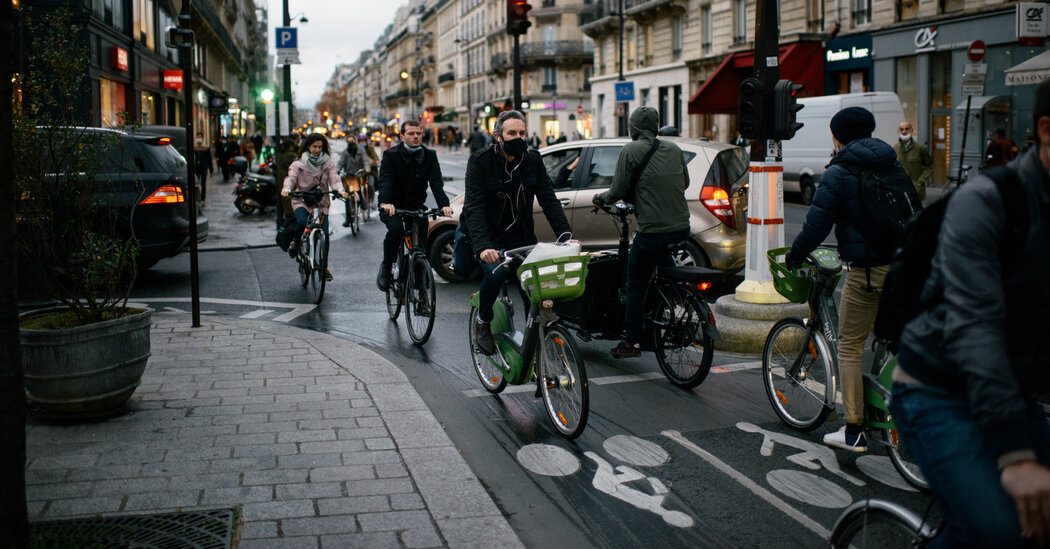 Pop-Up Bike Lanes Increased Cycling During the Pandemic, Research Finds