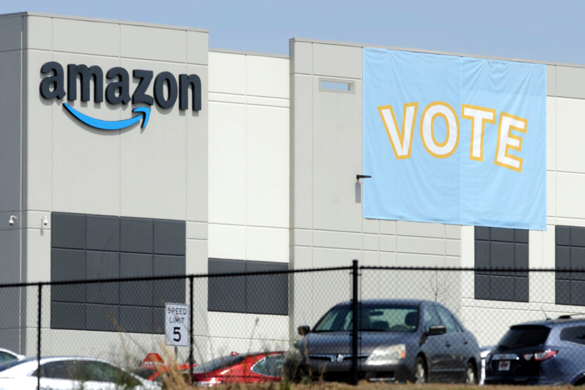 About 500 challenged ballots reportedly at stake in Amazon union vote