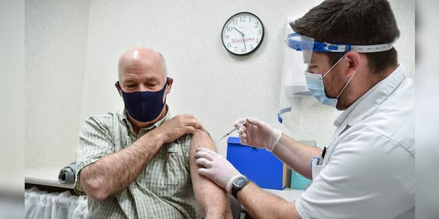 Montana Gov. Greg Gianforte tests positive for coronavirus after receiving vaccine