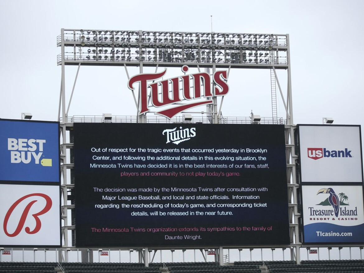 Twins, Wild, Timberwolves postpone games after fatal police shooting in Minnesota