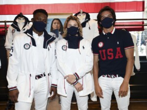 Ralph Lauren unveils Team USA Olympic closing ceremony uniforms