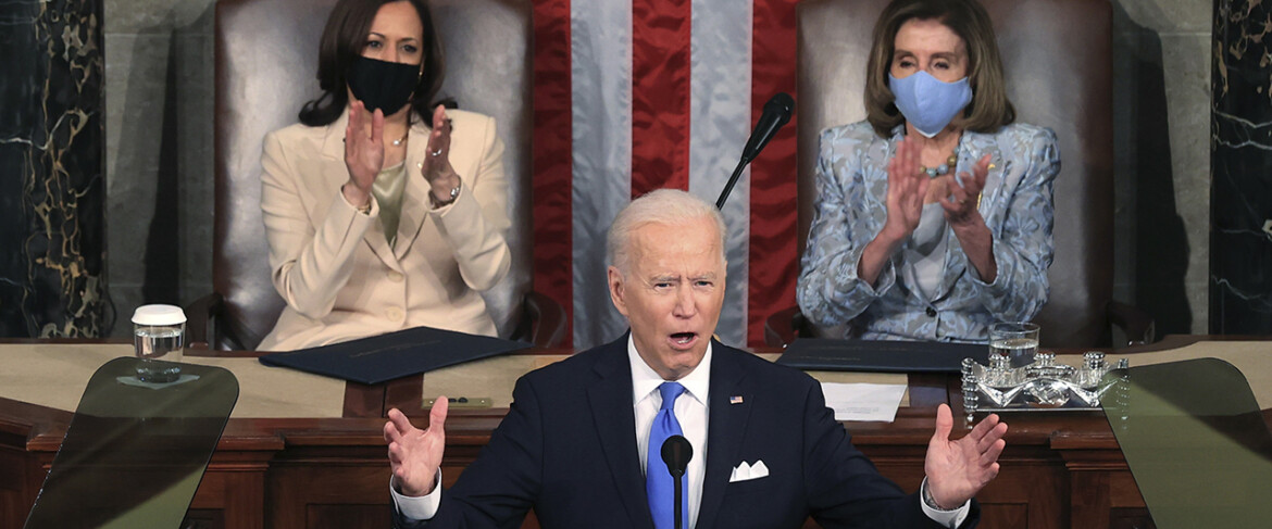 Biden lays out vision for 'rebuilding' America through slew of policy proposals in first joint address