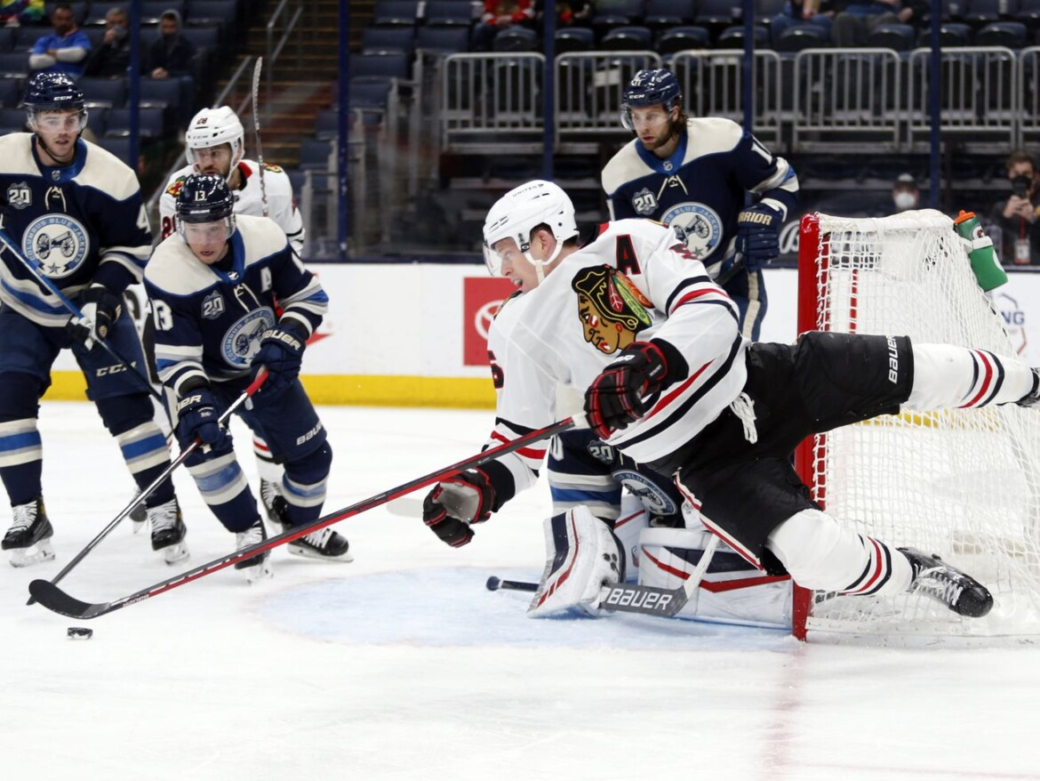 Blackhawks edge Blue Jackets as Brandon Hagel rips OT winner; Adam Boqvist injured