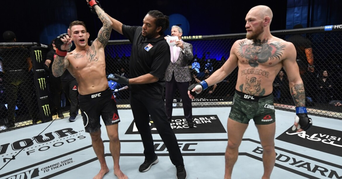 Dustin Poirier and Conor McGregor will take their squabble to the octagon