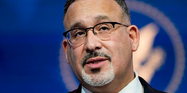 Education Secretary Miguel Cardona worried about getting teachers behind new 'woke' curriculum in email