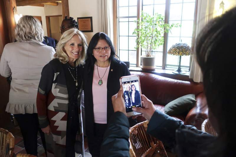 Jill Biden to visit Navajo Nation, once floored by COVID-19